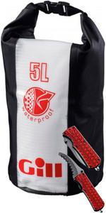 Gill Wet / Dry Cylinder 5LTR Bag & Folding Rescue Knife Package Deal