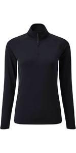 2020 Gill Women Womens UV Tec Long Sleeve Zip Tee UV009W - Navy