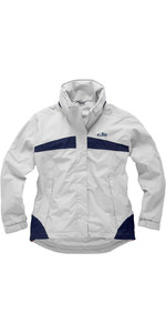 Gill Womens Inshore Lite Jacket Silver Grey / Navy IN31JW