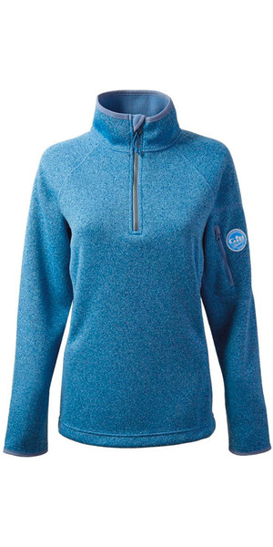 2018 Gill Womens Knit Fleece in Blue Melange 1491W