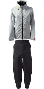 2020 Gill Womens Pilot Jacket IN81JW & Trouser IN81T Combi Set Silver / Graphite