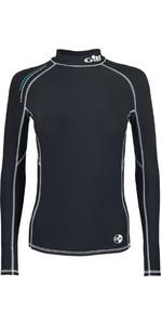 2020 Gill Womens Pro Long Sleeve Rash Vest Black 4430W