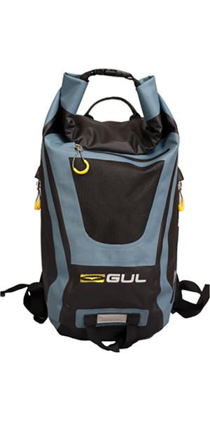 2018 Gul 30L Dry Rucksack Black / Blue LU0180-B4