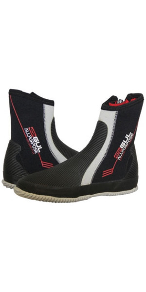 Gul JUNIOR All Purpose 5mm Boots in Black / Silver BO1276