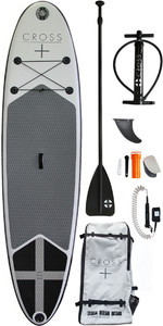 2019 Gul Cross 10'7 Inflatable SUP Board Package CB0029