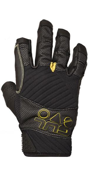2019 Gul EVO Pro Three Finger Sailing Glove Black GL1300-B4