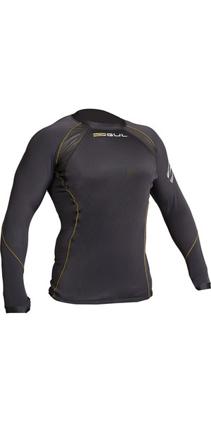 2019 Gul Evolite Flatlock Thermal Long Sleeve Top Black EV0119-B2