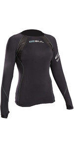 2020 Gul Evolite Womens Flatlock Thermal Long Sleeve Top Black EV0120-B2