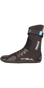2019 Gul Flexor 5mm Split Toe Wetsuit Boots Black BO1300-B4