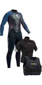 Gul G-Force 3mm Mens Wetsuit + Xola Rash Vest & Garda Buoyancy Aid - Sailing Starter Kit