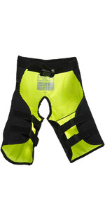 2020 Gul Junior Code Zero Kenetic Hike Pants BLACK / YELLOW GM0060-B2