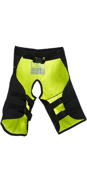 2018 Gul Junior Code Zero Kenetic Hike Pants BLACK / YELLOW GM0060-B2