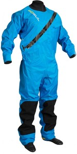 2020 GUL Mens Dartmouth Eclip Zip Drysuit Blue GM0378-B5