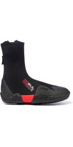 2020 Gul Power 5mm Round Toe Zipped Boots BO1306-B2 - Black