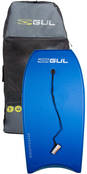 2019 Gul Response Adult 42 Bodyboard BLUE & Arica Board Bag Bundle Offer