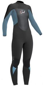 2020 Gul Response Womens 5/3mm GBS Back Zip Wetsuit Jet / Pewter RE1229-B1