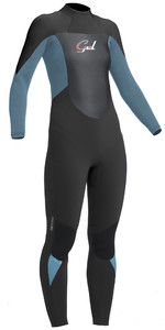 2020 Gul Response Womens 5/3mm GBS Back Zip Wetsuit Jet / Pewter RE1229-B1