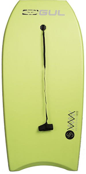 2018 Gul Response Mesh Adult 44 Bodyboard Lime GB0030-B4