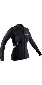 2021 Gul Womens Response 3/2mm Bolero Wetsuit Jacket RE6305-B9 - Black