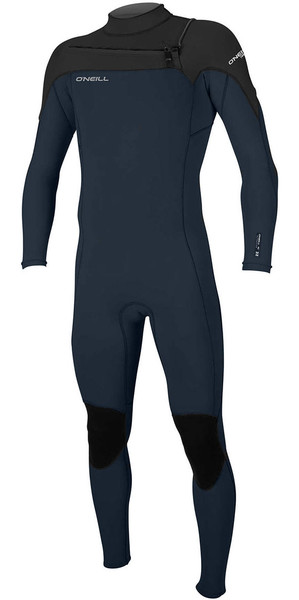 2018 O'Neill Hammer 3/2mm Chest Zip Wetsuit NAVY / BLACK 4926