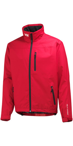 2018 Helly Hansen Crew Jacket RED 30263