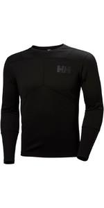 2019 Helly Hansen Lifa Active Crew Long Sleeve Base Layer Black 48308
