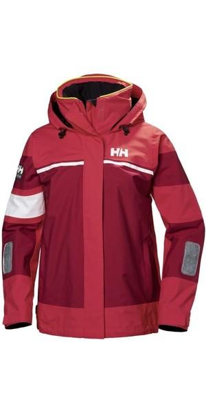 2019 Helly Hansen Womens Salt Light Jacket Cardinal 33925