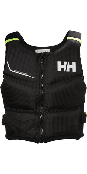 2018 Helly Hansen 50N Rider Stealth Zip Bouyancy Aid Ebony 33841