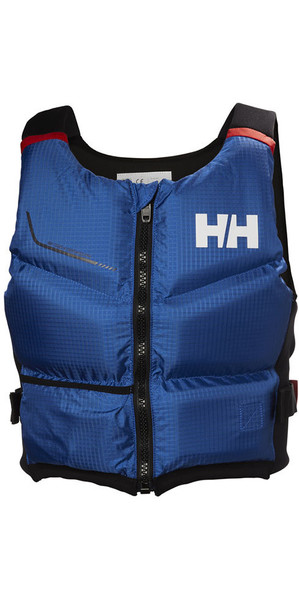 2018 Helly Hansen 50N Rider Stealth Zip Bouyancy Aid Olympian Blue 33841