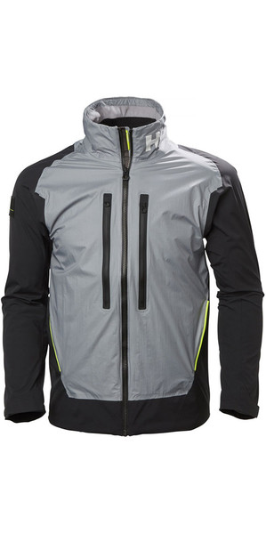 2019 Helly Hansen Aegir H2FLOW Jacket Silver Grey 33905