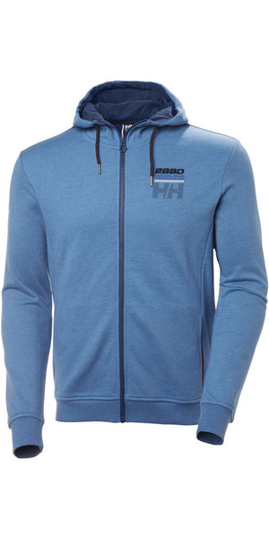 2018 Helly Hansen Club FZ Hoody Blue Water 33936