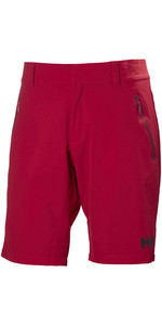 2019 Helly Hansen Crewline QD Shorts Red 53018