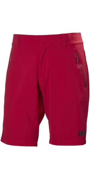 2018 Helly Hansen Crewline QD Shorts Red 53018
