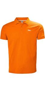 2019 Helly Hansen Driftline Polo Shirt Blaze Orange 50584