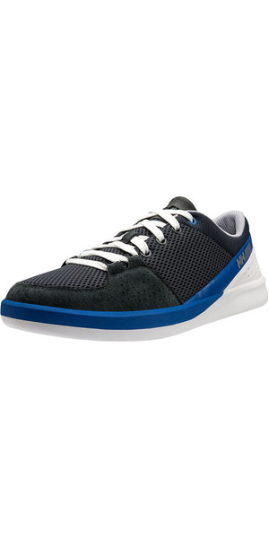 2018 Helly Hansen HH 5.5 M Performance Sailing Shoes Ebony / Classic Blue 11129