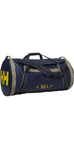 2019 Helly Hansen HH 50L Duffel Bag 2 Graphite Blue 68005