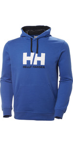 2019 Helly Hansen HH Logo Hoodie Olympian Blue 33977