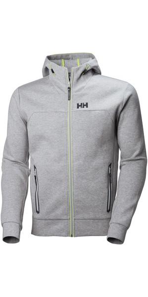 2018 Helly Hansen HP Ocean Hoody Grey Melange 53010