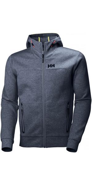 2018 Helly Hansen HP Ocean Hoody Vintage Indigo Melange 53010
