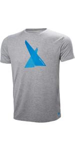 Helly Hansen HP Shore T-Shirt Grey Melange 53029