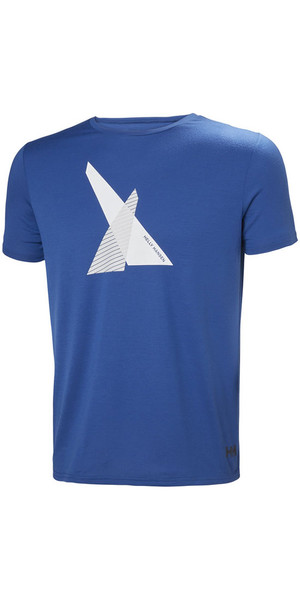 2018 Helly Hansen HP Shore T-Shirt Olympian Blue 53029