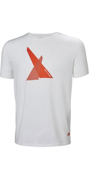 2018 Helly Hansen HP Shore T-Shirt White 53029