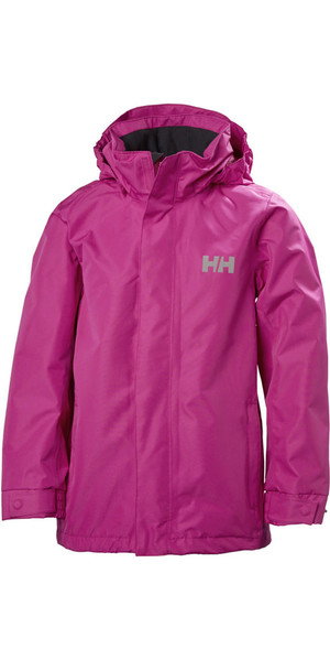 2018 Helly Hansen Junior Dubliner Jacket Very Berry 40317