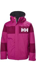 Helly Hansen Junior Salt Port Jacket Very Berry 41634