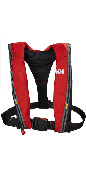 2018 Helly Hansen Junior Sport Automatice Lifejacket Alert Red 33974
