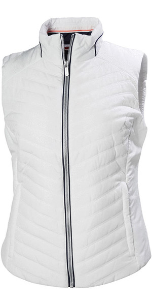 2019 Helly Hansen Womens Crew Insulator Vest White 53031