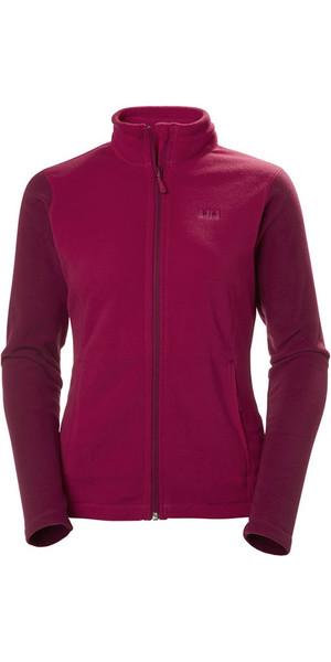 2018 Helly Hansen Womens Daybreaker Fleece Jacket Persian Red 51599