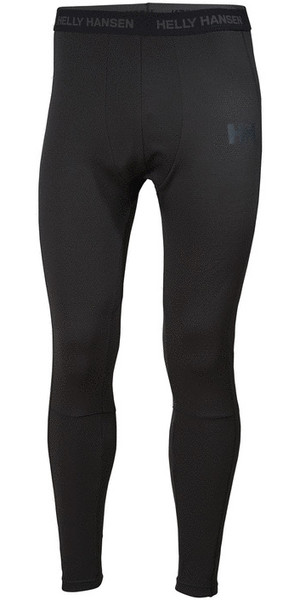 2019 Helly Hansen Lifa Active Base Layer Trouser Black 48312
