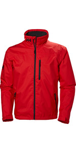 2019 Helly Hansen Mens Crew Midlayer Jacket Alert Red 30253