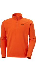 2020 Helly Hansen Mens Daybreaker 1/2 Zip Fleece 50844 - Patrol Orange
